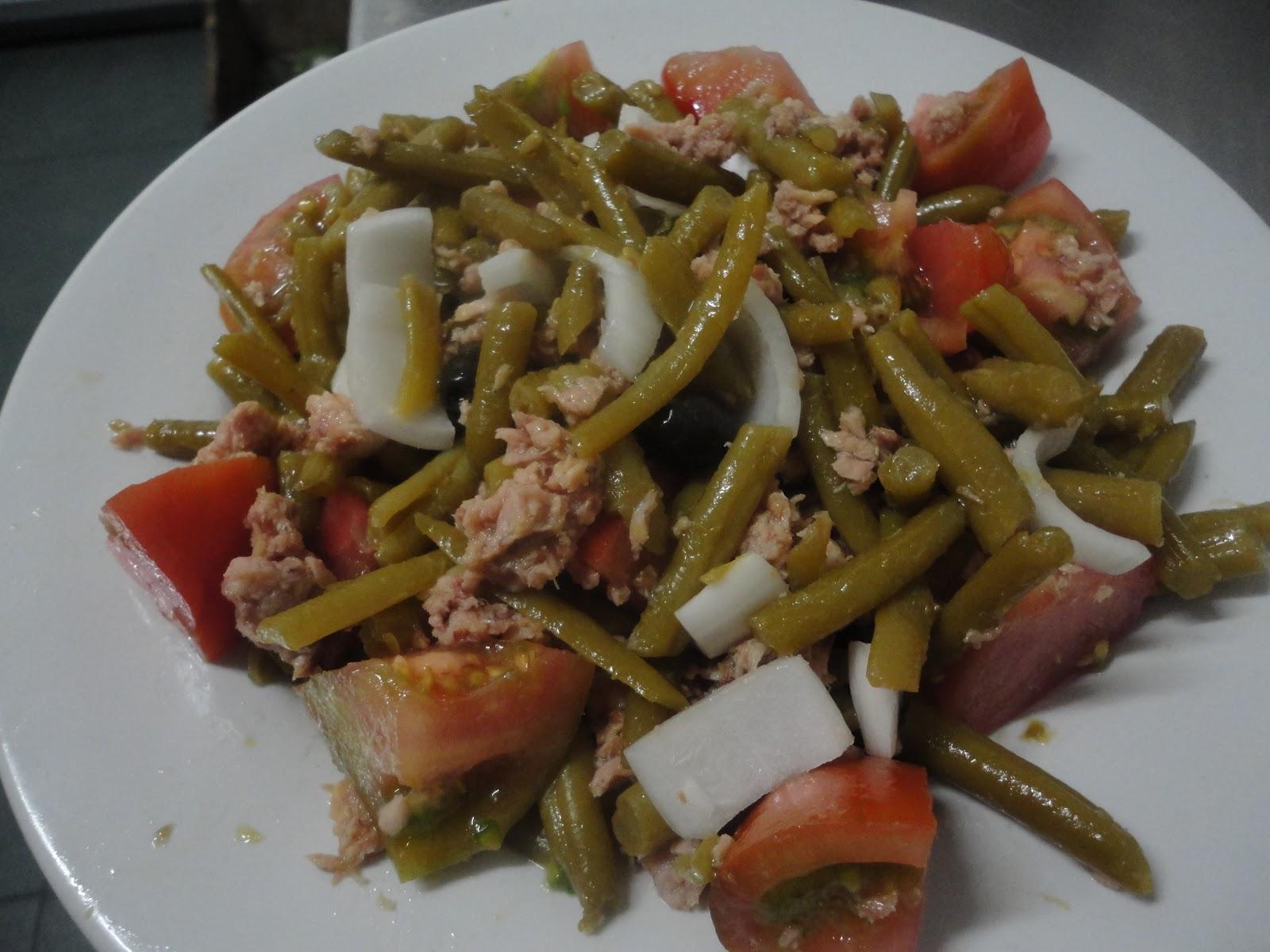 La cocina de pepa ensalada de jud as verdes con at n - Ensalada de judias verdes arguinano ...
