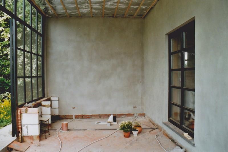 De biodiverse tuin tuinevolutie xvii 2006 - Veranda met muur ...