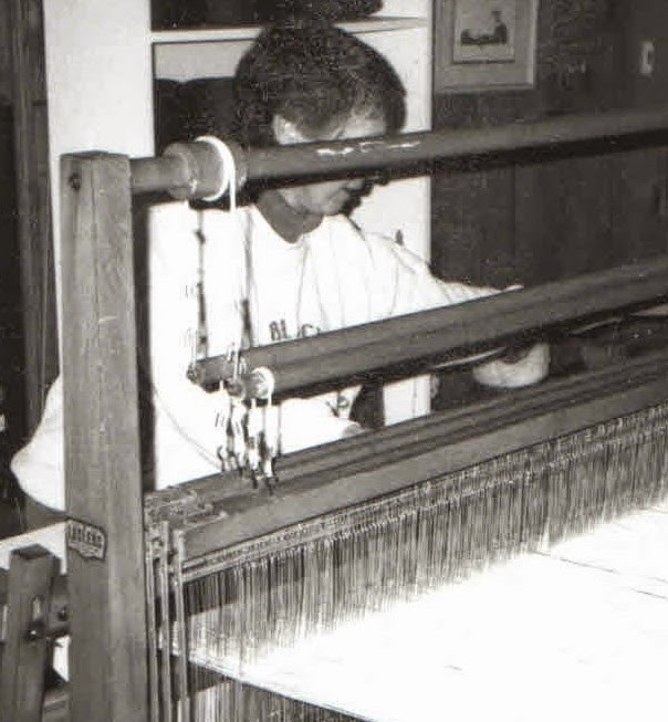 Weaving long ago