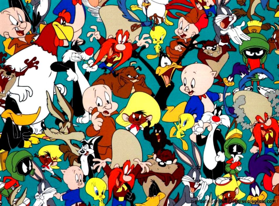 Wallpaper Caroon Looney Tunes Hd Desktop | High Definitions Wallpapers