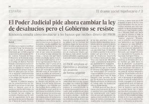 Diari El País dimarts 6 de novembre del 2012
