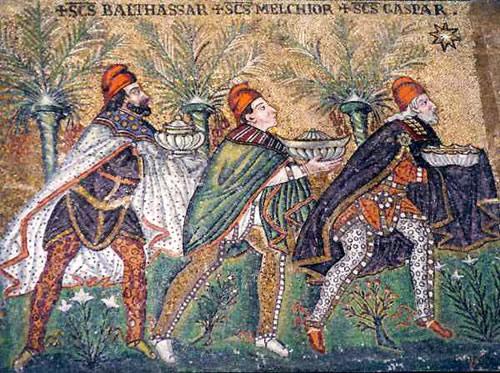 Melchor * Gaspar * Baltasar con GORROS Frigios