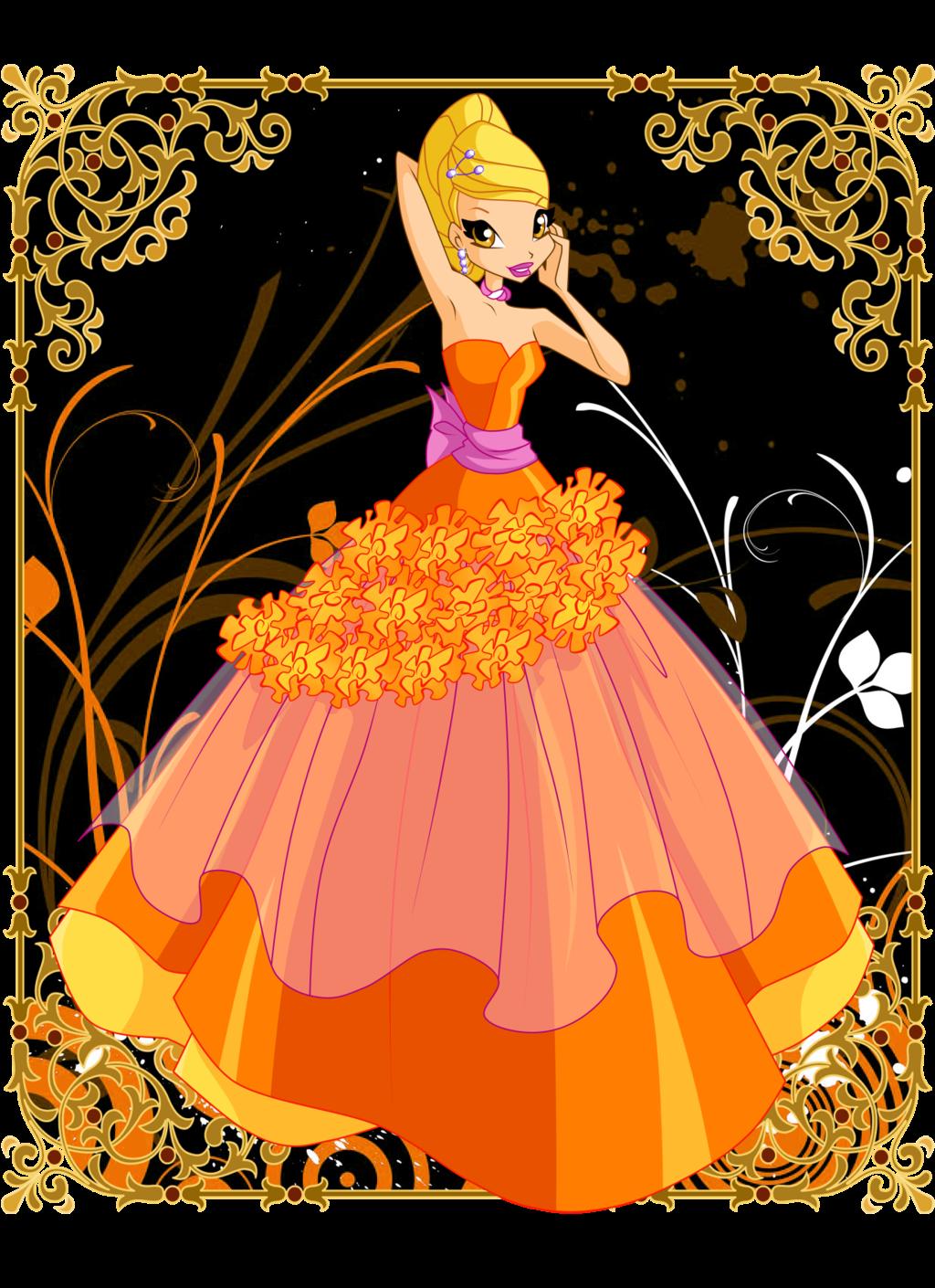 winx club flower princesses