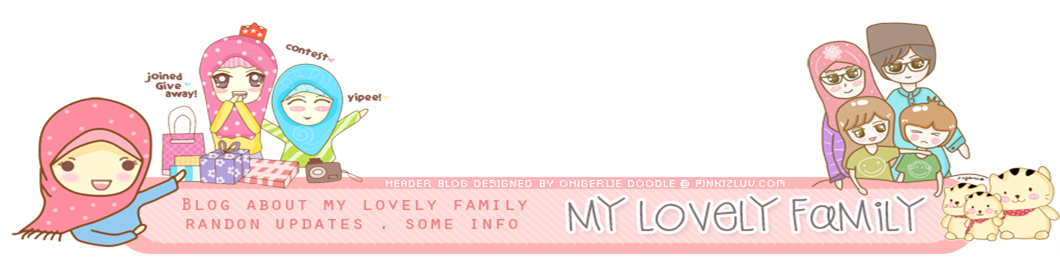 ! My Lovely Family Blog !