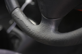 Ford Puma Cleaning Molten Steering Wheel