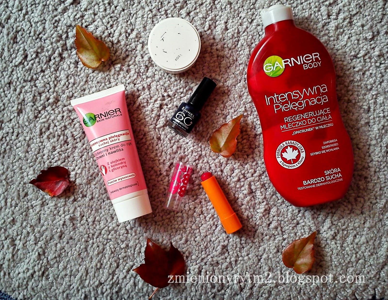 Jesienny zestaw kosmetyczny