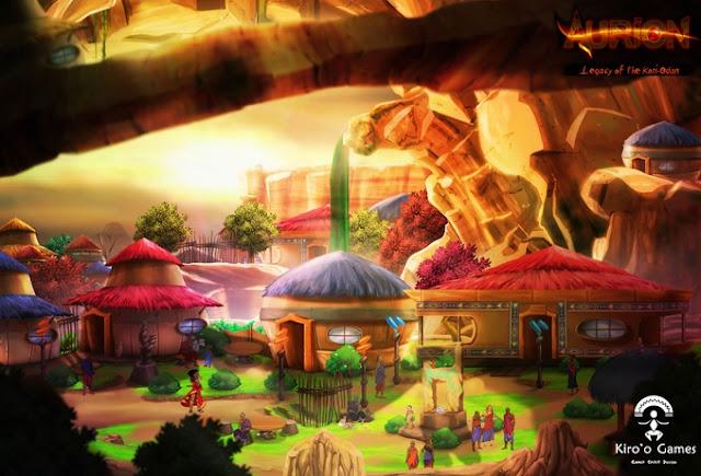 Aurion: Legacy of the Kori-Odan. Sueños africanos en un RPG de acción con Kickstarter