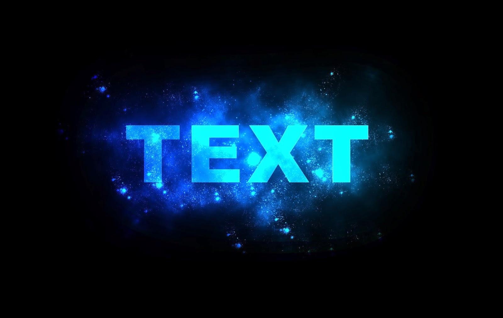 Tutorial PhotoShop Cara Glowing Text Effect Di PhotoShop