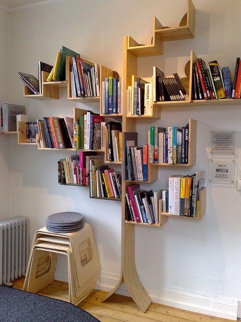 أحدث ديكورات مكتبات عصرية 2015   ديكور غرف