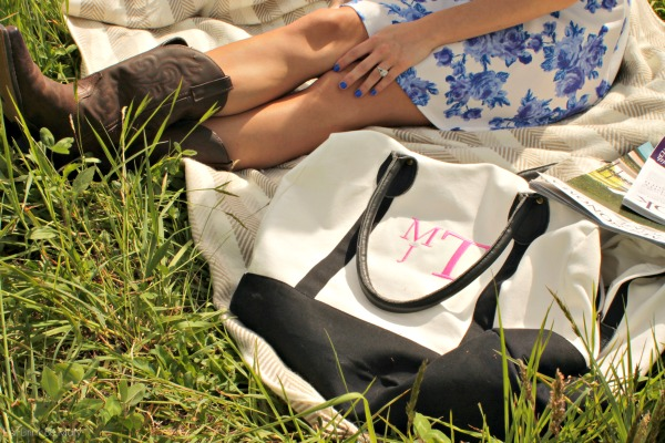Monogrammed Weekender Bag - The Preppy Pair