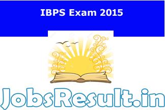 IBPS Exam 2015