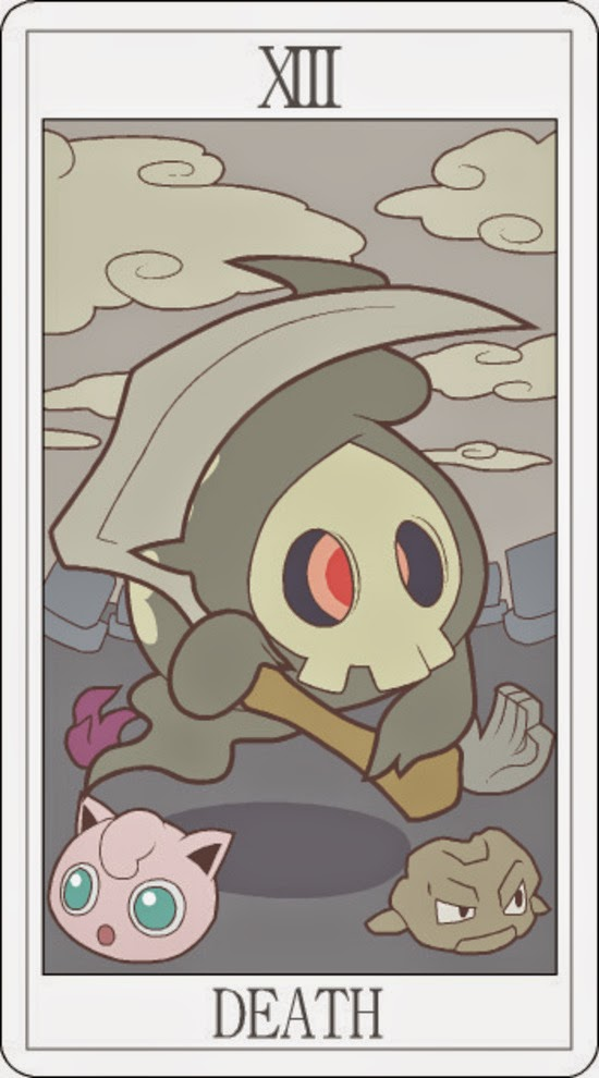 Pokemon Tarot - Death