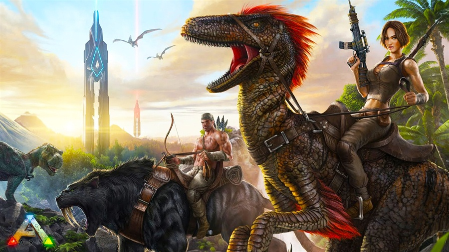 ARK Survival Evolved Free Download Poster