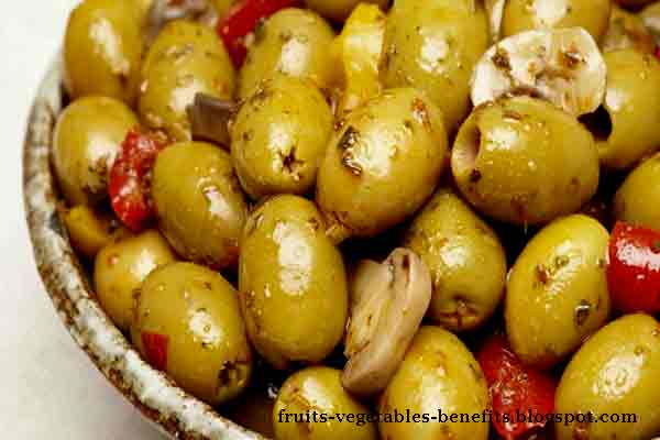 healthy fruit tart olive vegetable or fruit