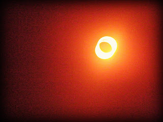 "Full ""Ring of Fire"" over Albuquerque, New Mexico during the annular eclipse"