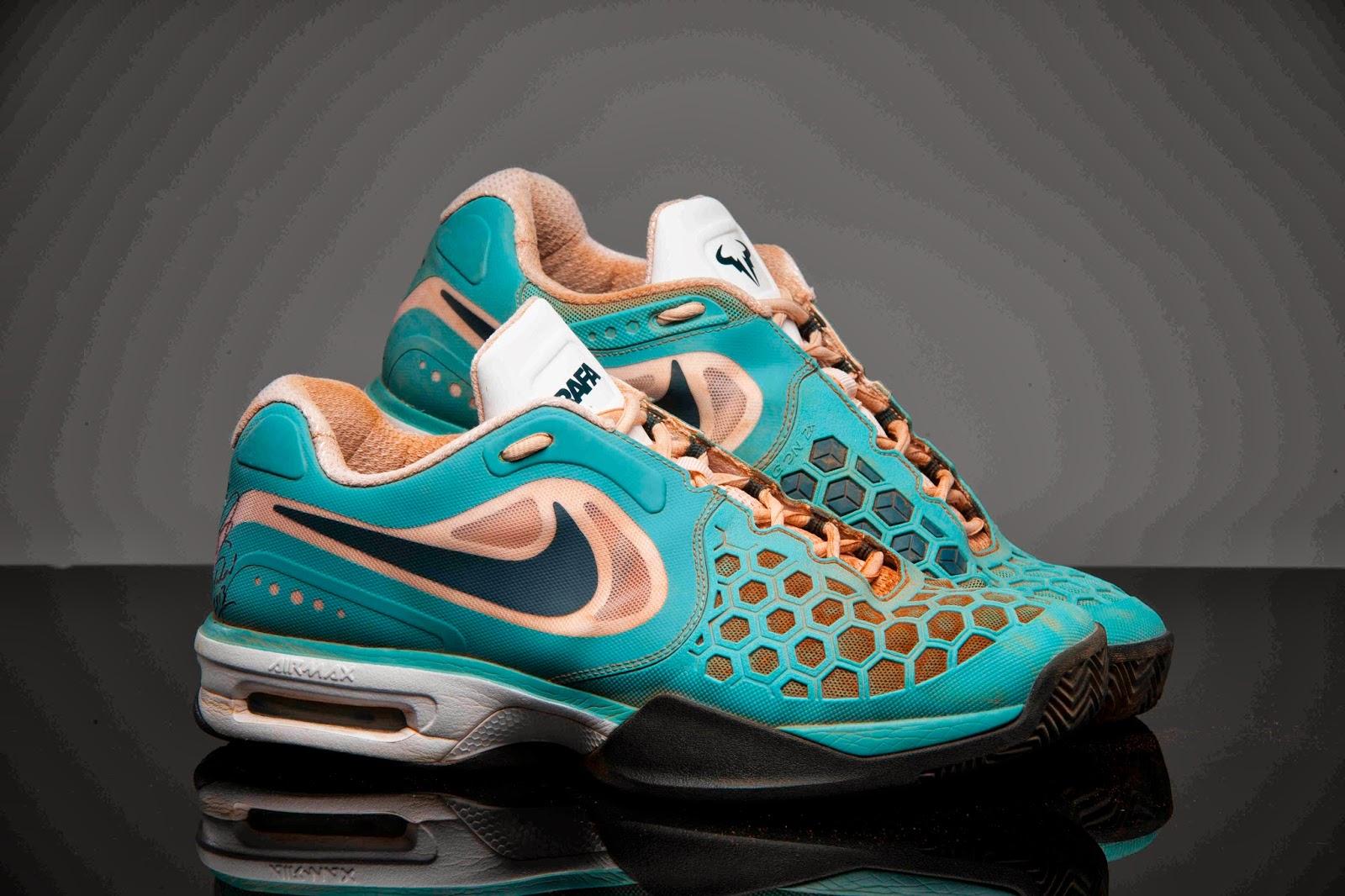 rafaholics rafa nadal donates tennis shoes for charity