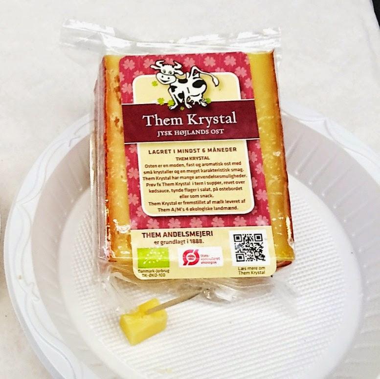 danish cheese sample packet