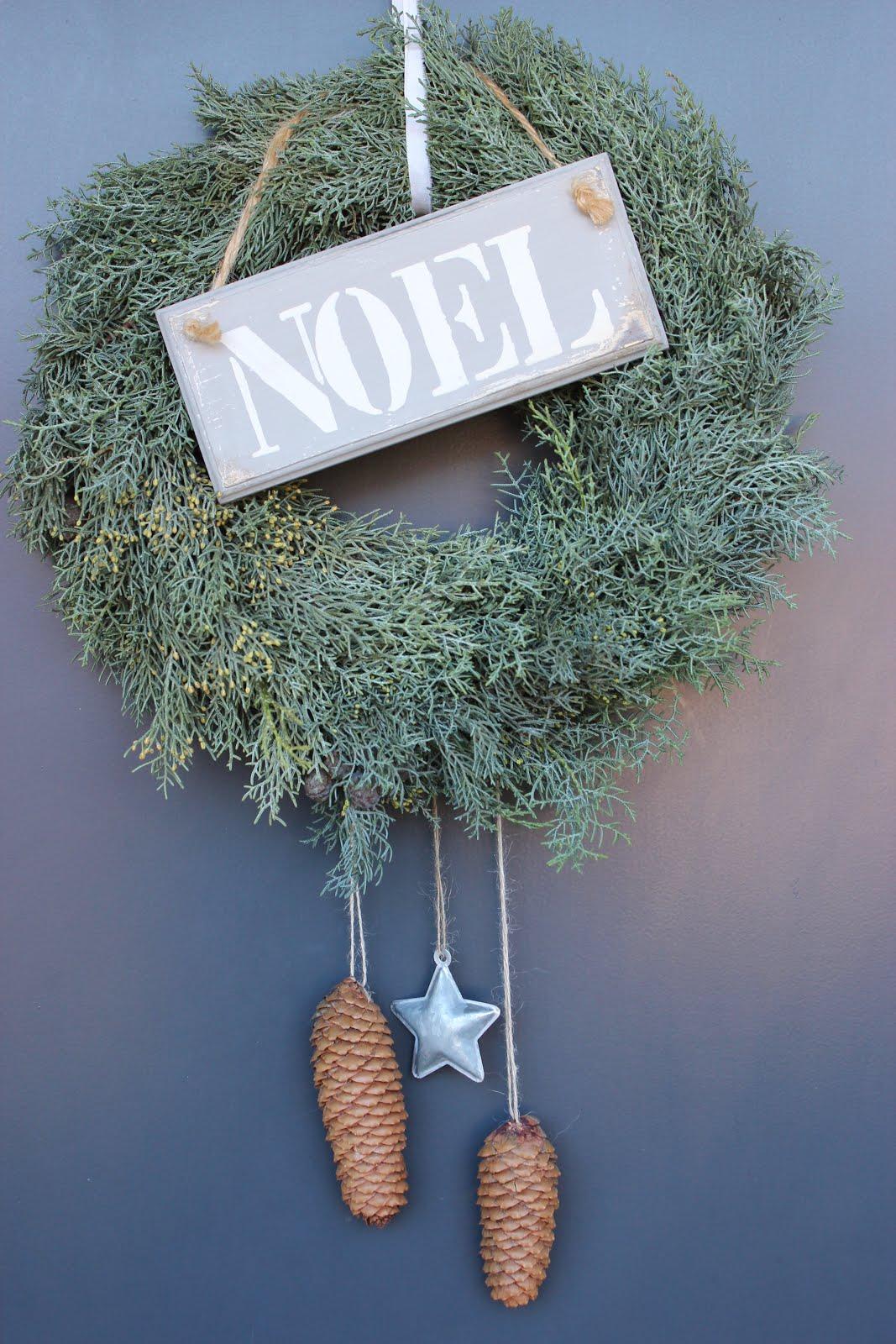 Weihnachtliche Kränze