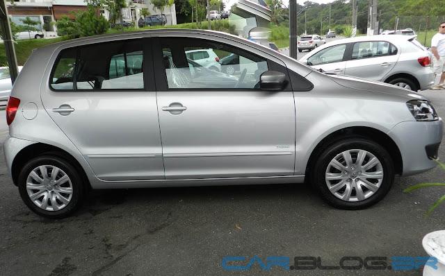 VW Fox 1.0 2013 - Trend - Prata Sargas