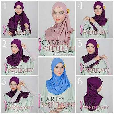 Tutorial Berhijab Modern Terbaru 2013: Cara Memakai Hijab AARA