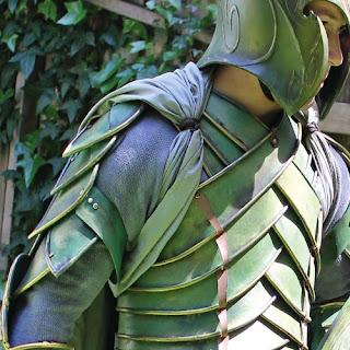 Armor made from linoleum