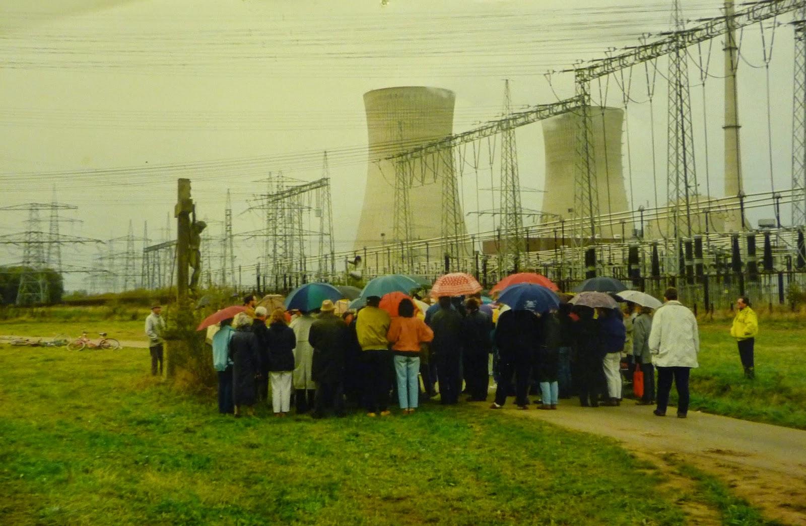 Andacht nach Tschernobyl am AKW Grafenrheinfeld kkg