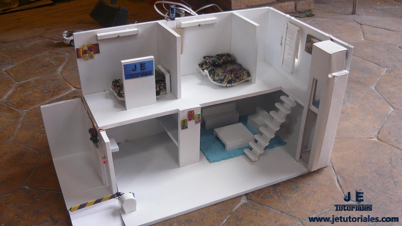 Maqueta de una casa dom tica automatizada j e tutoriales - Proyectos para construir una casa ...