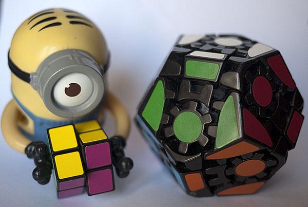 Gear Minx I Gear Dodecahedron Cube - GRU Sirviente