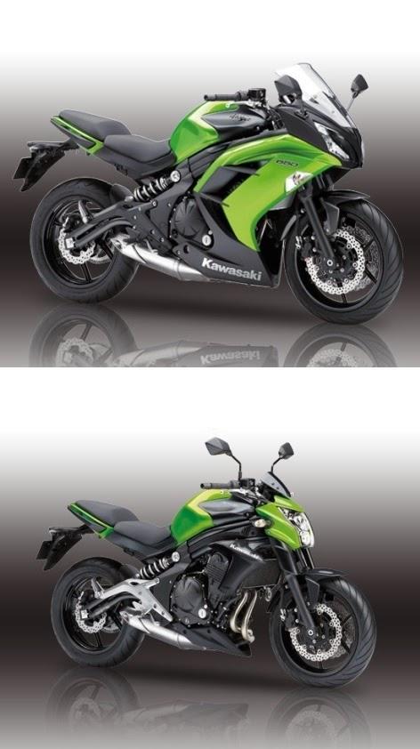 Kawasaki Ninja 250 RR satu silinder ada versi fairing dan versi naked