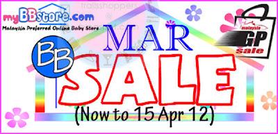 myBBstore Sale Till 15 APR 2012