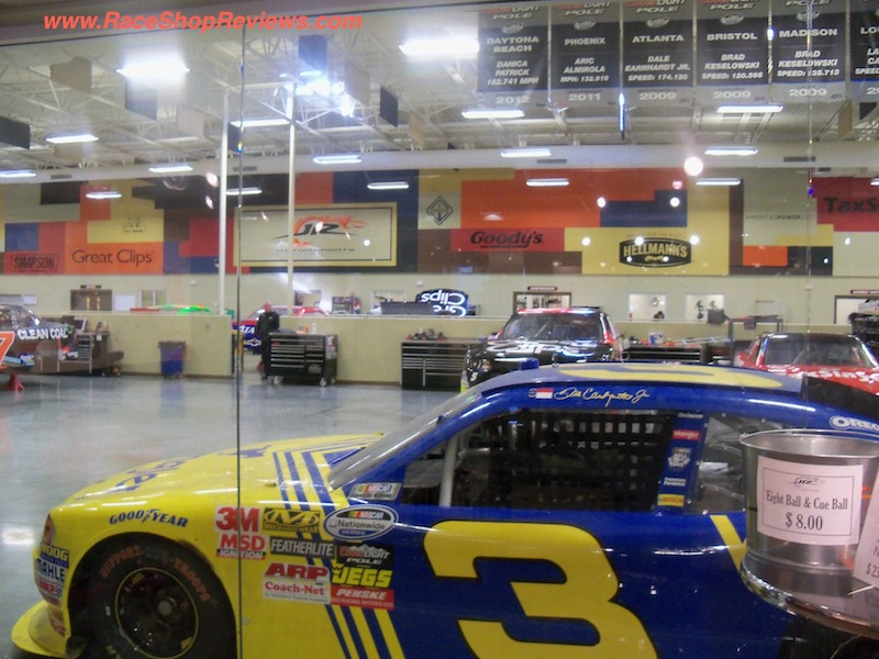 Race shop reviews jr motorsports for Star motors mooresville nc