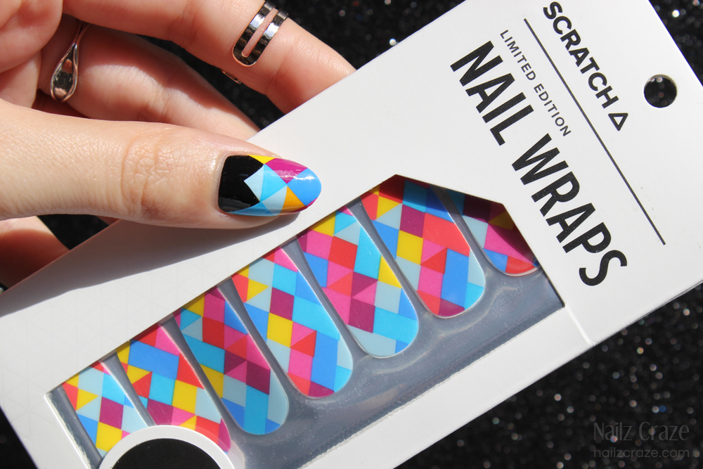 Scratch Nail Wraps in Prismatic + Giveaway - Nailz Craze