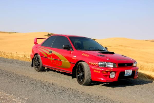1995 Subaru Impreza 2 Door Coupe Auto Restorationice