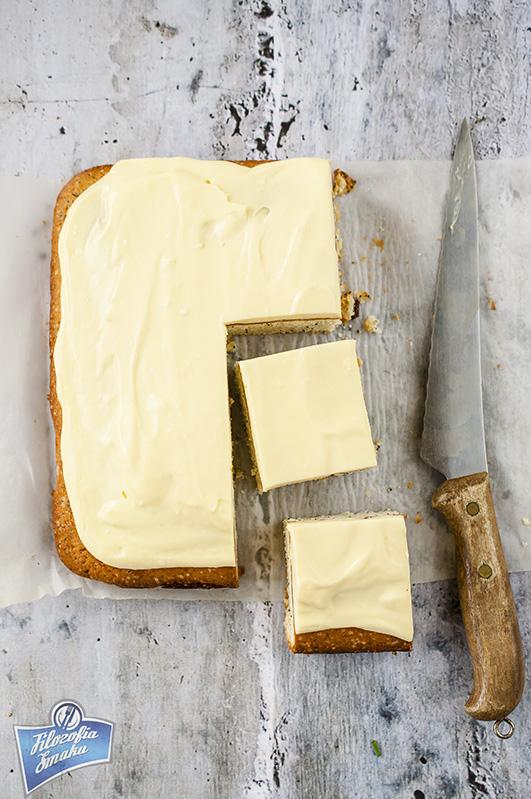 Ciasto cytrynowe z makiem przepis