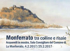 Mostra acquerelli Lu Monferrato