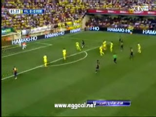 هدف فوز برشلونة على  فياريال  فى الدورى الاسبانى