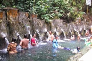 objek wisata guci , pemandian air panas