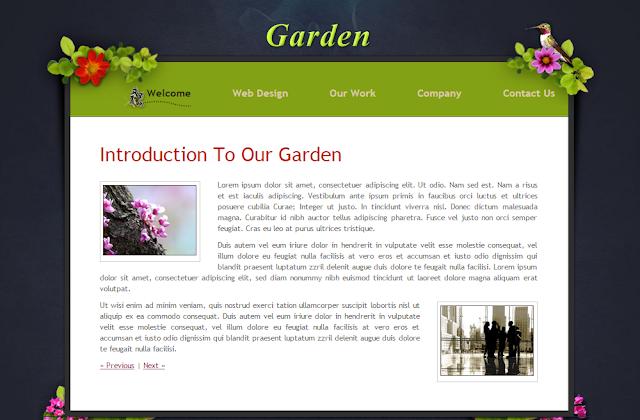 Garden Blogger Template