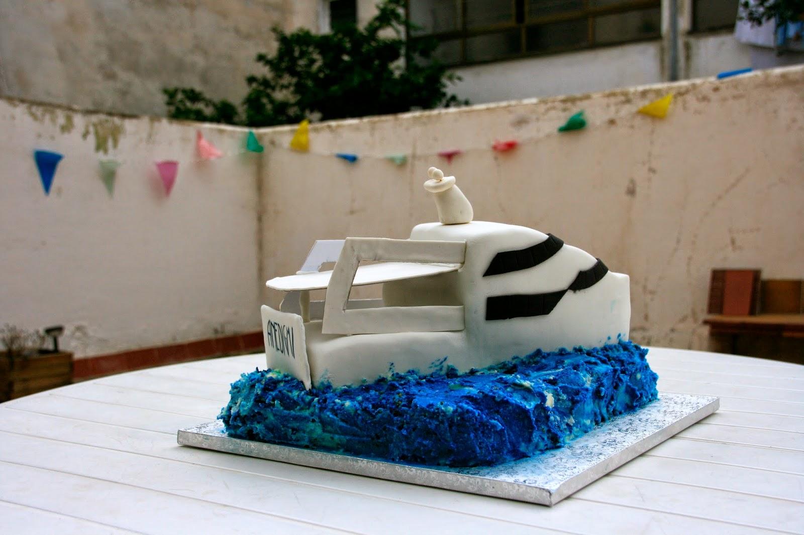 Tarta vaixell