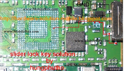 Nokia 5800 Slider Key Track Ways Jumper