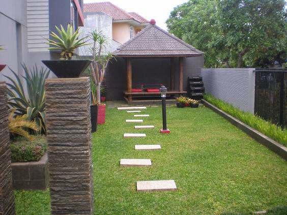 taman minimalis harga kolam per meter taman rumah