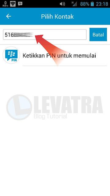 Cara Mudah Chatting di BBM Tanpa Harus Invite PIN