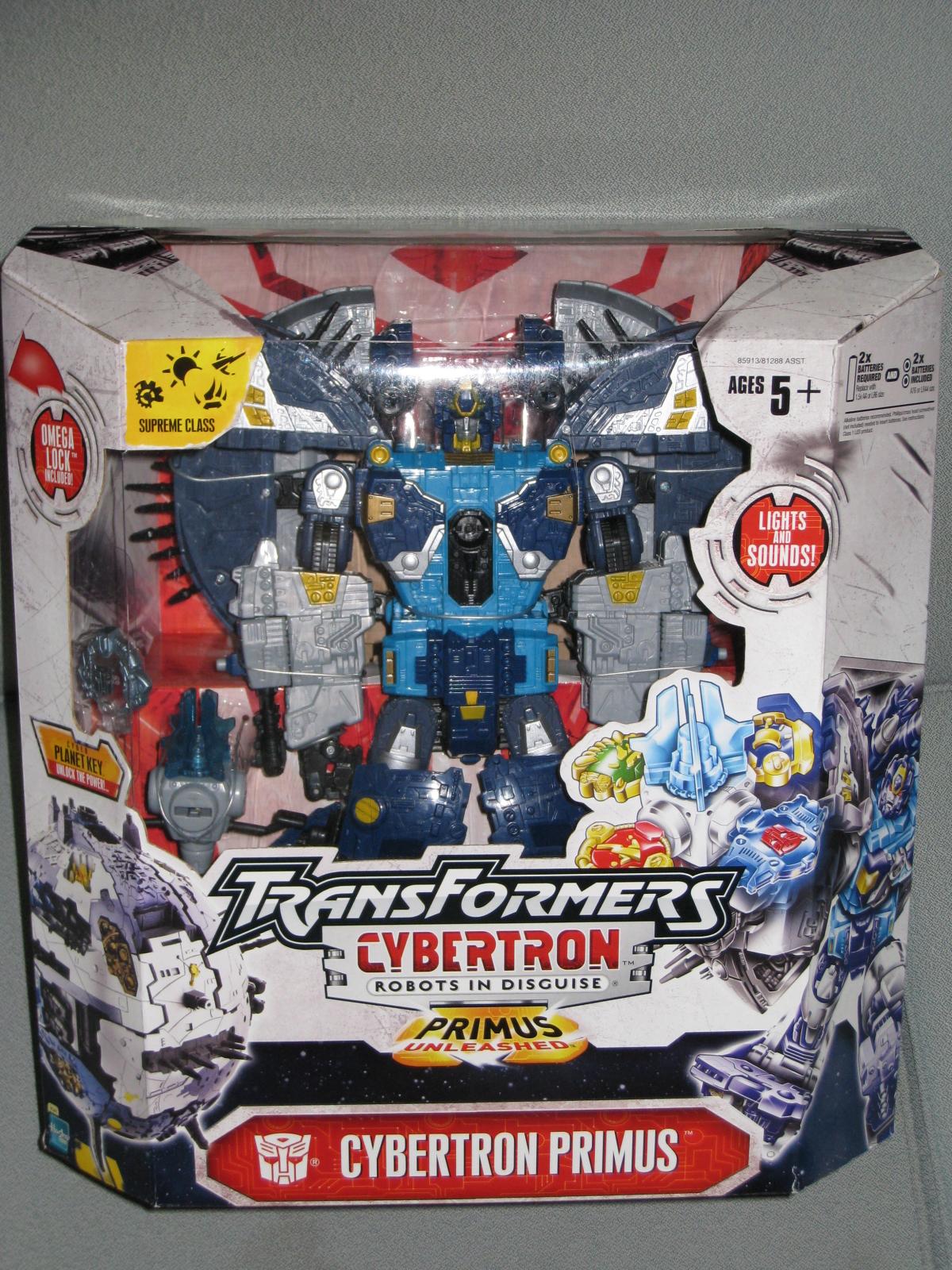 Freezm80 S Toyz Transformers Cybertron Primus