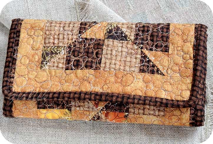 текстильный кошелек