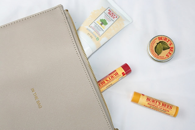Katherine Penney Chic Blogger Beauty Burt's Bees Set Review Hand Cream Lip balm love pretty