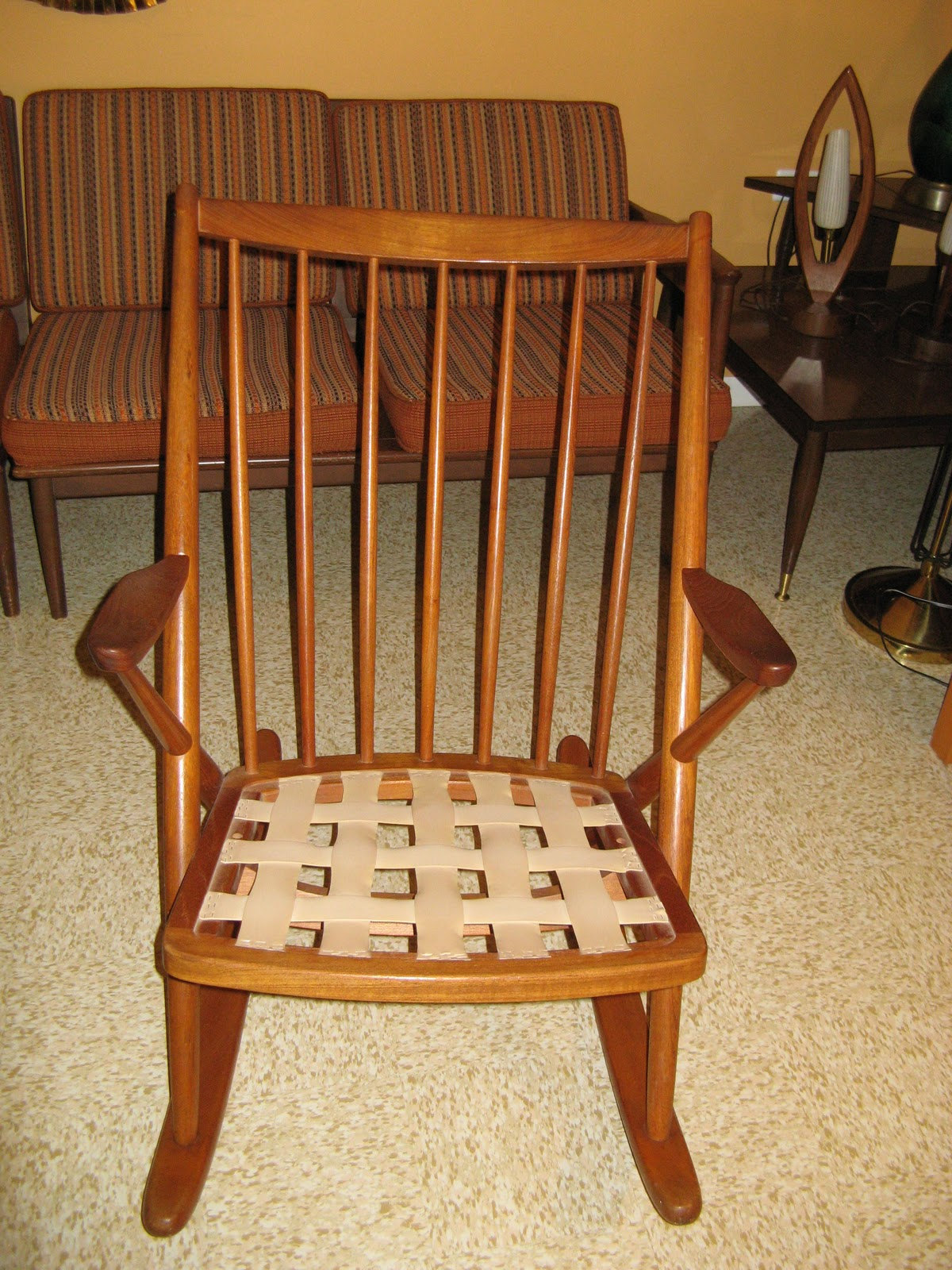 Frank reenskaug rocking chair - Danish Modern Comfortable And Sharp Rocking Chair Designed By Frank Reenskaug For Bramin Mobler Solid Teak Circa 1960 S Excellent Condition