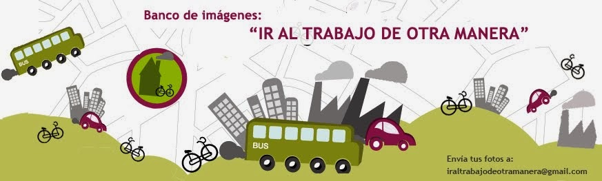"""Banco de imágenes: """"IR AL TRABAJO DE OTRA MANERA"""""""