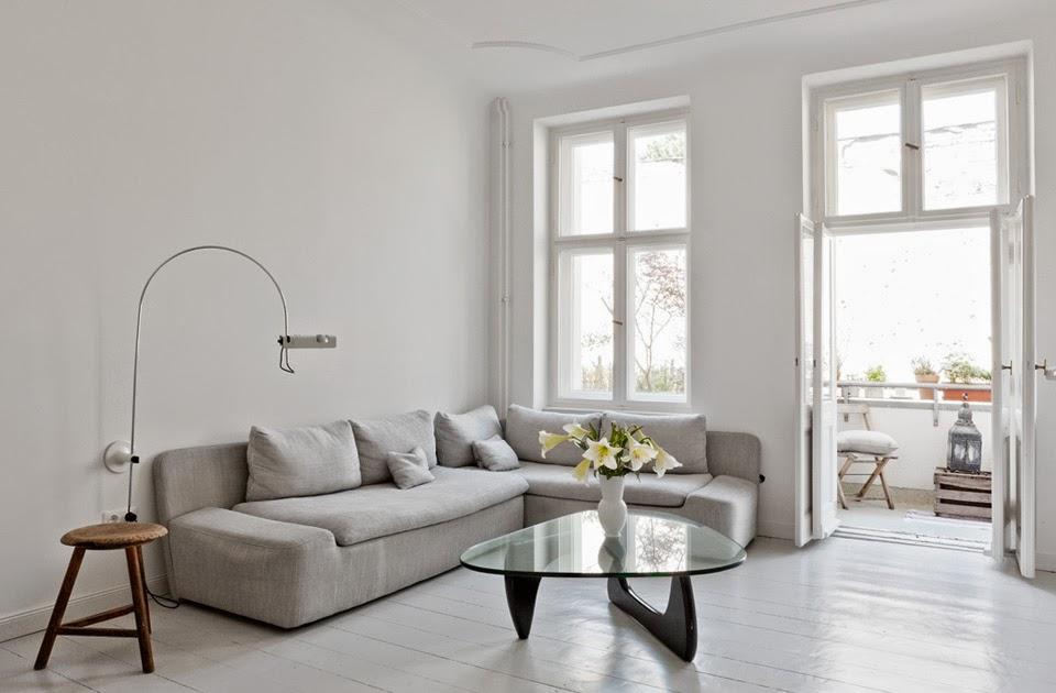my scandinavian home a cool pared back berlin apartment. Black Bedroom Furniture Sets. Home Design Ideas