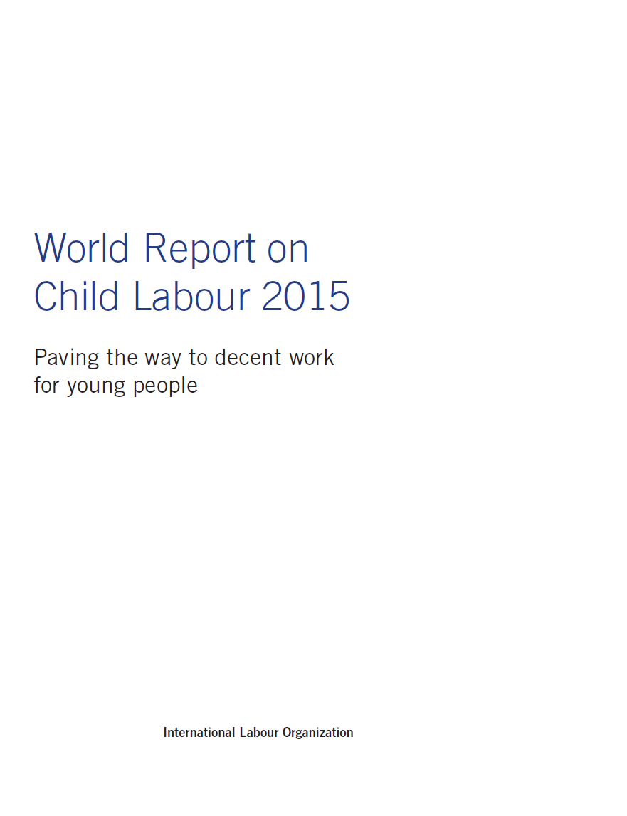 report writing on child labour A study on child labour with special reference to child labour project figure:28 frequency of report child labour refers to the exploitation of the labour of.