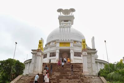 dhauligiri Buddhist stupa